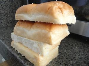 cut up bread