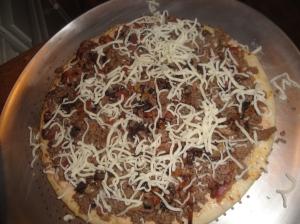 add mozzarella