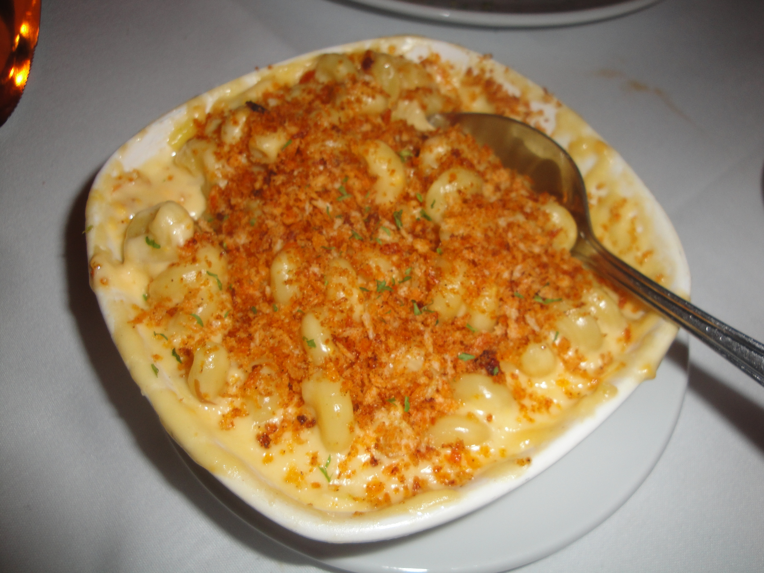 My Husband Chose The Chipotle Cheddar Mac Cheese I Told You Loves His One Bite Into Classic Elbow Macaroni And Mixture