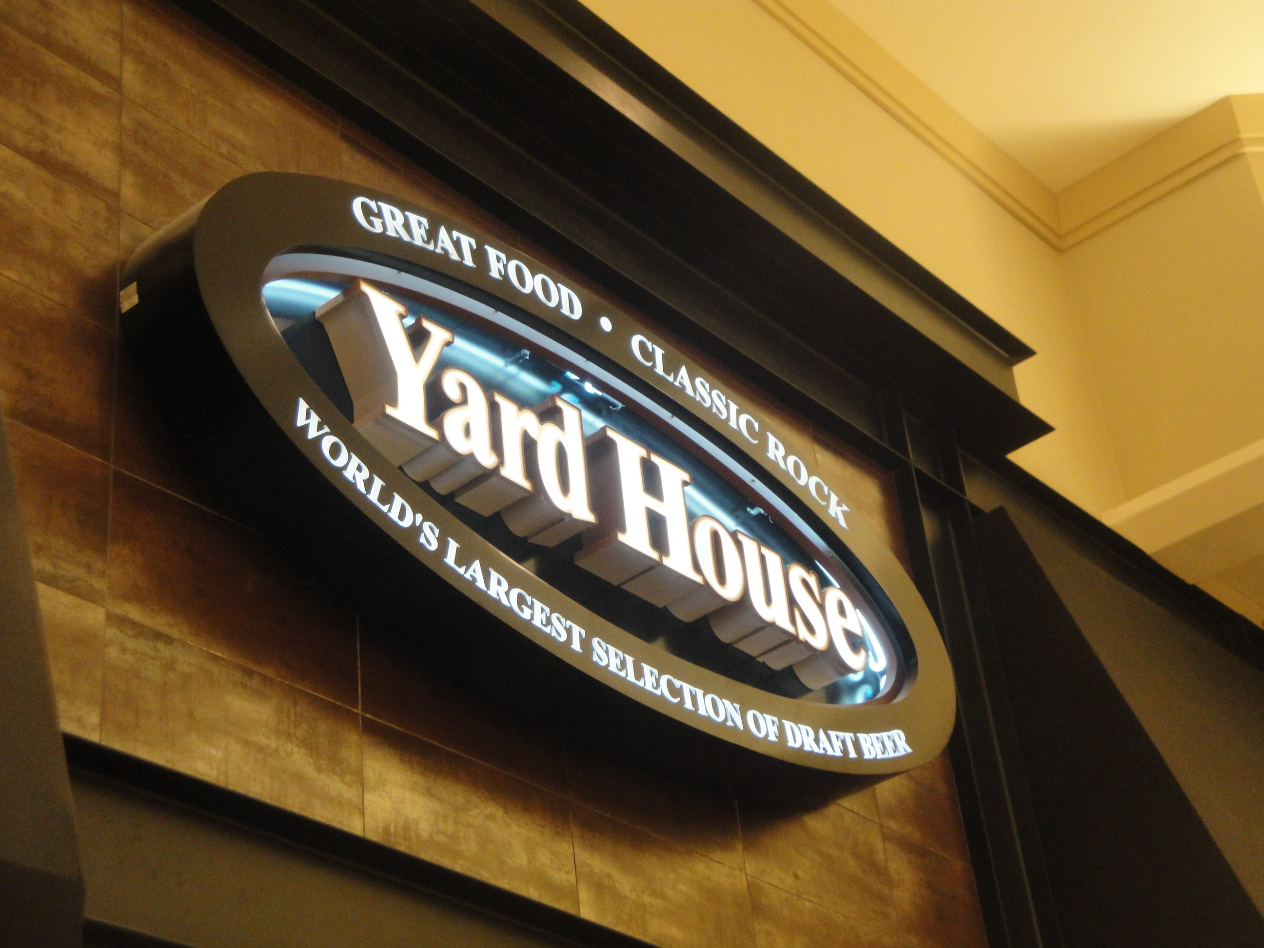 yard house | ducky's always hungry