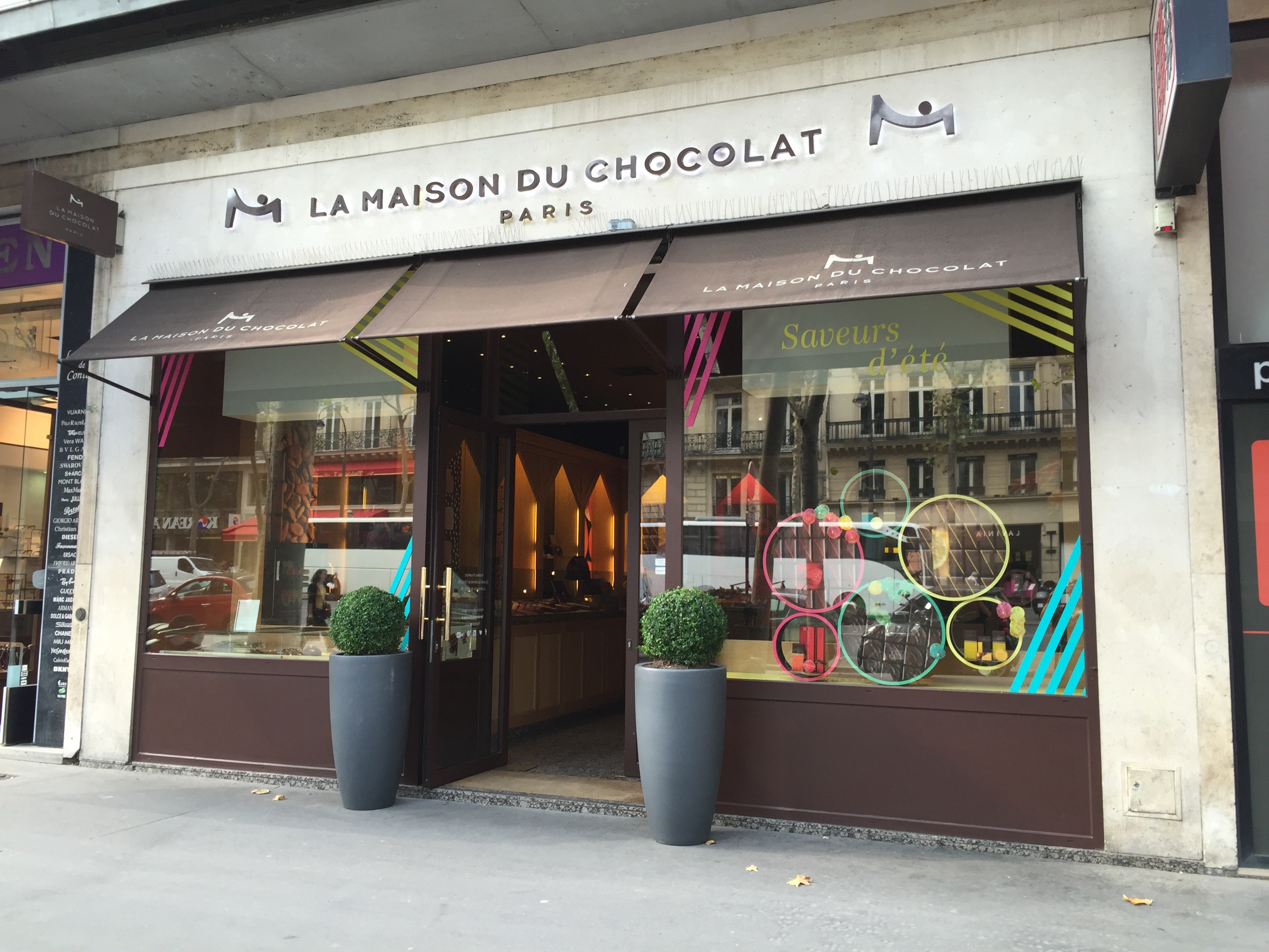 La maison du chocolat paris ducky 39 s always hungry - La maison du canape paris ...
